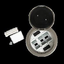 8AT Prewired Evolution™ Poke Thru Device, Flush Style Cover, Nickel