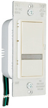 500W, 15A Emergency Decorator Home Locator Switch, Ivory