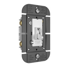 TOGGLE SLIDE DIMMER INCAN SP/3W 1100W WH