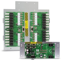 Retrofit kit for GE 12 relay SWS or TLC relay panel