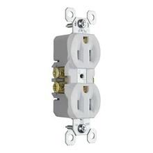 15A/125V TradeMaster® Tamper-Resistant Duplex Receptacle, White