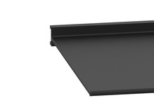 Seal- Cabinet- 6 in H X 8 ft L Qty 1- Black