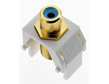 Blue RCA to F-Connector, White