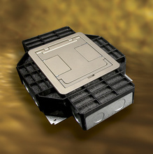 Resource RFB® Series Four Gang Floor Box