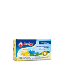Anchor Salted Pure New Zealand Butter 227g