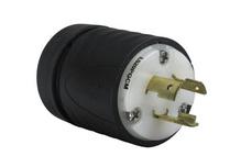 Heavy-Duty Ground Continuity Monitoring (GCM) Plug, Black & White