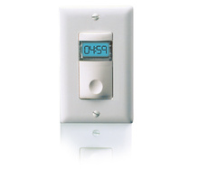 Digital Time Switch, 100-300 V AC, 0-800/1200 Watts, White
