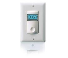 Digital Time Switch, 120/277VAC, 0-800W/1200W Ballast, White