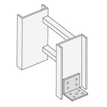 Floor Flange/Tray-To-Box Connector