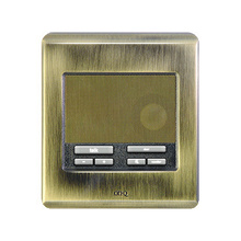 Selective Call Intercom Patio Unit, Antique Brass