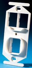 TracJack 106-Type Frame, Three-Port, Cloud White