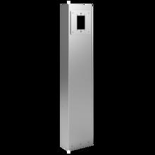 Outdoor Power Pedestal, 1-Gang Device Plate