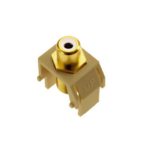 RCA to F-Connector, Ivory