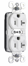 PlugTail® Tamper-Resistant Spec Grade Receptacles, 20A, 125V, White
