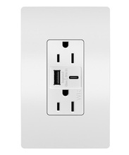 radiant® Outdoor Ultra-Fast USB Outlet