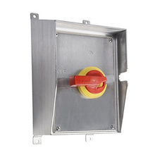 Sloped-Roof Stainless Steel Safety Switch, 100 Amps