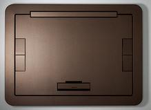 Evolution Series EFB6, EFB8, EFT10 Floor Box Flush Style Cover with Carpet Insert