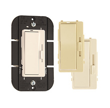 Harmony® Interchangeable Face Incandescent Dimmer, 3 Colors