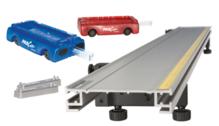 Basic PAScar Metal Track 1.2m System