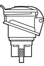 16A Pin & Sleeve International Splashproof Receptacle