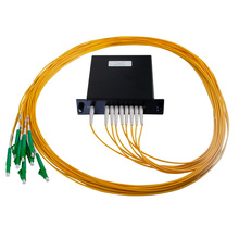 M2 1X8 POL SPLITTER- LC/APC CONNECTORS- 2M PIGTAILS
