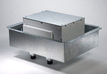 EFB8S-FC1122 Evolution Series 8-Gang Fire-Classified Floor Box