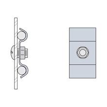 Z-1873-01-GE Ground Wire Clamp Kit w/Hdw