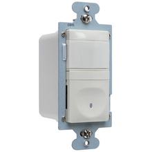 120V Single Pole Vacancy Sensor, Light Almond