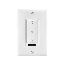 DLM Low Voltage 1-Button Shade Wall Switch