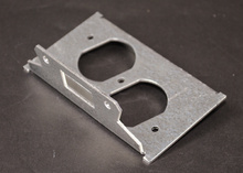 Resource RFB® Series Duplex Device Plate for RFB6/RFB6E Style Floor Boxes