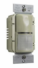 Commercial Passive Infrared (PIR) Wall Switch Sensor, Ivory