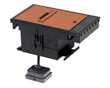 Outdoor Ground Box 30A, 250V TURNLOK®, Locking Receptacle L6-30R, Brown