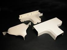 CableSmart 40N2 Radiused Full Capacity Tee Fitting