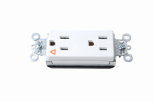 PlugTail® Isolated Ground Decorator Spec Grade Receptacles, 15A, 125V, White