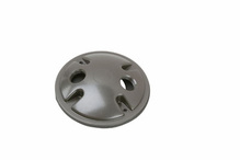 """4"""""""" Round Outdoor Cluster Cover, Gray"""