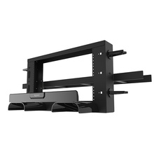 Mighty Mo Overhead Cable Pathway Rack - 2RU - Black