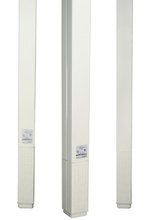 BLANK STEEL EXPRESS POLE (2)5FT DG SECTIONS DESIGNER GRAY