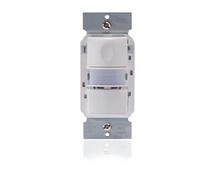 PIR Multi-way Wall Switch Sensor w/ nightlight Black