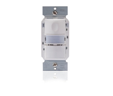 PIR Multi-way Wall Switch Sensor w/Nightlight, Ivory