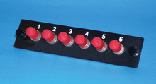 6-ST multimode adapters with phosphbronze alignment sleeves