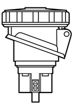 100A Pin & Sleeve Watertight Receptacle