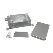 Omnibox® Series Double Gang Shallow Steel Floor Box
