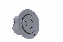20 Amp NEMA L720 Outlet, Gray