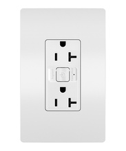 Smart 20A Outlet with Netatmo, White
