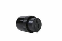 Medium-Duty Dead Front Connector, Black