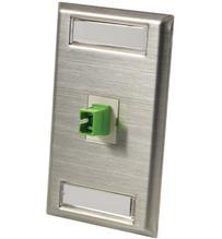 Series II 2-SC/APC, ceramic, adapter, 45 degree exit
