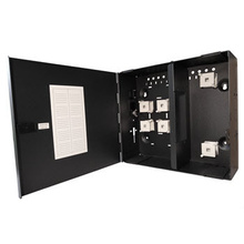 Q-Series Standard Density Wall Mount Fiber Enclosure Black