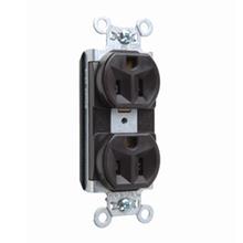 PlugTail® Spec Grade Receptacles, 15A, 125V, Brown