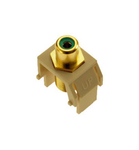 Green RCA to F-Connector, Ivory
