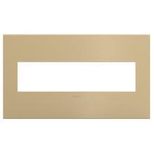 adorne® Golden Sands Four-Gang Screwless Wall Plate